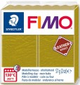 FIMO leather effect oliwka