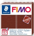 FIMO leather effect czekoladowy
