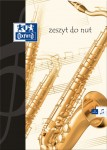 Zeszyt do nut Oxford format A4
