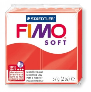 MODELINA FIMO w KOSTKACH 57g SOFT -24 indian red