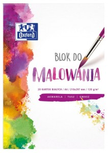 Blok do malowania  A4 OXFORD